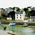 Port du Bono Brittany France - Tilt Shift Effect by Buckwhite