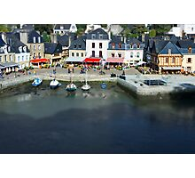The Port of St Goustan - Auray - Brittany - France - Tilt Shift Effect Photographic Print