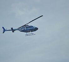 Chopper Over Redcliffe by mbutwell
