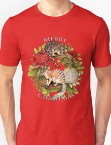Australian Christmas Wreath T-Shirt