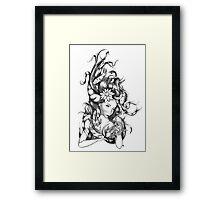 The Fish Whisperer Framed Print