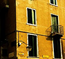 Sun Drenched - Vintage Italian Hotel by dw13