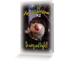 Merry and Bright Greeting Card