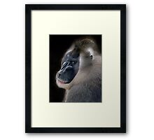 Portrait of a father  Framed Print