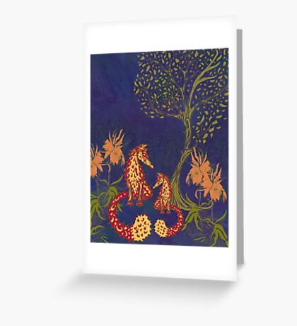 Foxy Forest Greeting Card