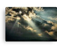 Holes in the Floor of Heaven Canvas Print
