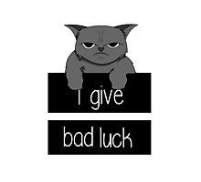 Bad Luck Photographic Print