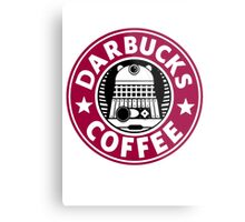 Darbucks Coffee RED Metal Print