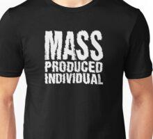 Mass Produced Individual Unisex T-Shirt