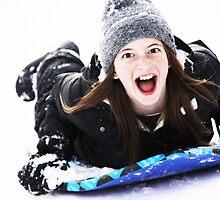 Fun at Snow by Aurora Vaz
