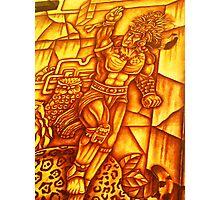 Mayan Warrior Photographic Print