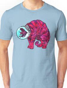 CATFISHTRONAUT (magenta) Unisex T-Shirt