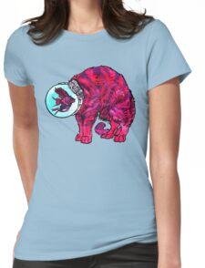 CATFISHTRONAUT (magenta) Womens Fitted T-Shirt