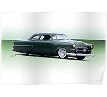 1954 Ford Customliner Coupe Poster