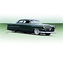 1954 Ford Customliner Coupe Photographic Print