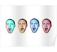 Mac Miller GO:ODAM Poster