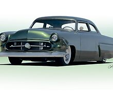 1954 Ford Customliner Coupe II by DaveKoontz