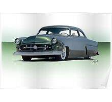 1954 Ford Customliner Coupe II Poster