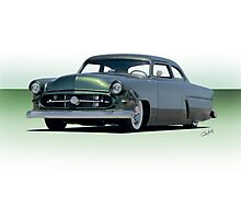 1954 Ford Customliner Coupe II Photographic Print