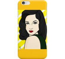 Dita Von Teese iPhone Case/Skin