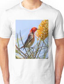 Scarlet Honeyeater Unisex T-Shirt