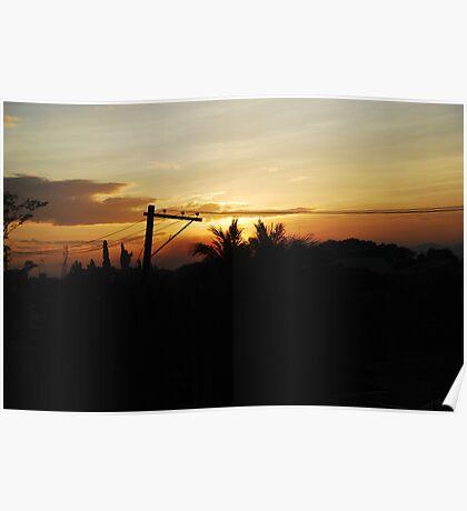 San Fernando Sunset Poster