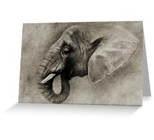 L' ELEPHANT Greeting Card
