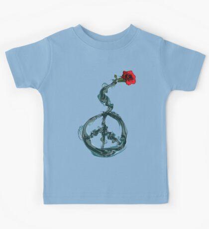 Peace and rose Kids Tee