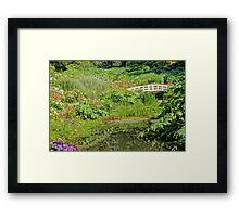Great Gardens Of Cornwall Framed Print