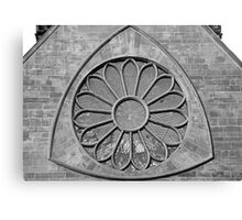 Cathedral Window in B&W Canvas Print