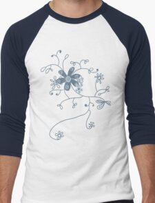 doodling Men's Baseball ¾ T-Shirt
