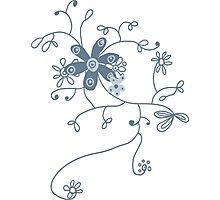 doodling Photographic Print