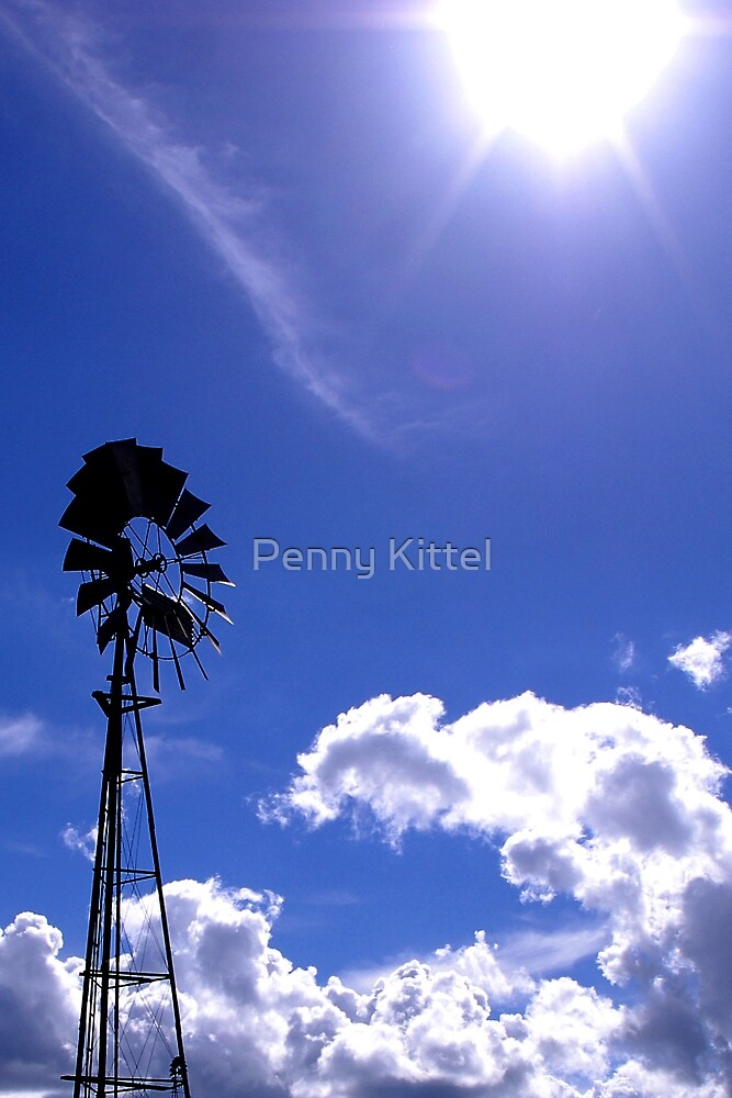 The sun and the wind by Penny Kittel
