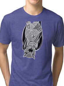 Bat Zentangle Tri-blend T-Shirt