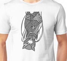 Bat Zentangle Unisex T-Shirt