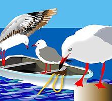 Australian Birds  by rodesigns