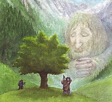 The Giant of Glass Mountain by Nestor