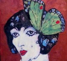 Madam (Schiele) Butterfly by Redlady
