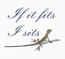 If it fits lizard Kids Tee