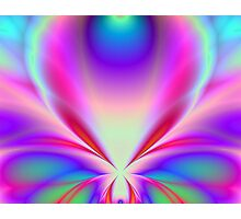 Butterfly Fractal Photographic Print