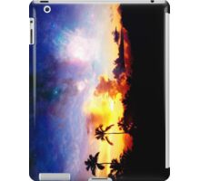 Fire and Ice Sunset  iPad Case/Skin