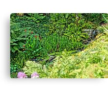 Colours of Cornwall's Great Gardens Canvas Print