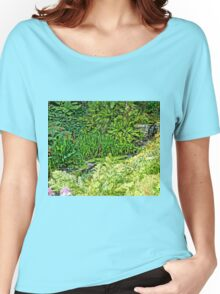 Colours of Cornwall's Great Gardens Women's Relaxed Fit T-Shirt