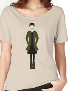 Goth Girl Character Women's Relaxed Fit T-Shirt