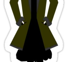 Goth Girl Character Sticker
