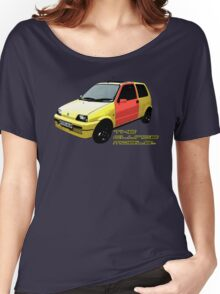 The Clungemobile - The Inbetweeners [Single Print With Text] Women's Relaxed Fit T-Shirt