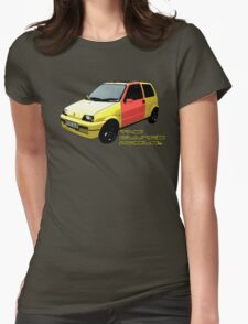The Clungemobile - The Inbetweeners [Single Print With Text] Womens Fitted T-Shirt