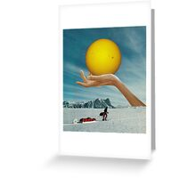 Sunspot Greeting Card