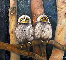 FROGMOUTHS by Redlady