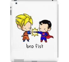 Goku Bro Fists Superman iPad Case/Skin